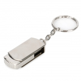 MUP30A Rotational Stainless Steel USB 2.0 Flash Drive - Silver (16GB)