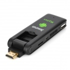 Jesurun Xplus Cell Phone Control Android 4.0 Google TV Player w/ Wi-Fi / 1GB RAM / 4GB ROM - Black