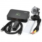 Jesurun J17 Android 4.0 Media Player w/ Fly Mouse / Wi-Fi / SD / Built-in 2.0MP Camera - Black