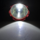 600lm 3-Mode White Light Headlamp - Grey + Red (1 x 18650)