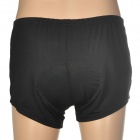 Cycling Bicycle Bike Riding Man's Underpants w/ Cushion - Black (Size XXL)