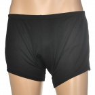 Cycling Bicycle Bike Riding Man's Underpants w/ Cushion - Black (Size XXXL)