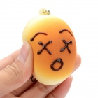 Emulational Bread Style Sponge Pendant with Strap for Cellphone