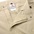 Hasky XQQ-SGK-13 Man's Nylon Lightweight Fast Drying Hiking Trekking Trousers - Khaki (Size XL)