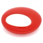 anya D535 Melamine Plastic Rotation Ashtray - Red + White