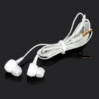 SONUN SN-614 Stylish In-Ear Earphones - White (3.5mm Plug / 139cm)