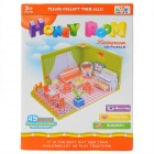Ling Le Si PJ3301 Intellectual Development DIY Model Honey Room 3D Puzzle Toy - Multi-Color