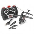 U813 3.5-CH Rechargeable IR Remote Controlled R/C Helicopter w/ Gyro - Black