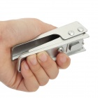Portable Nano SIM Card Stainless Steel Cutter for iPhone 5 - Silver