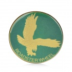 Eagle Style Car Decorative Sticker - Green + Golden