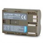 "BP-511A Replacement 7.4V ""1600mAh"" Li-ion Battery for Canon EOS-300D / 5D + More - Khaki Grey"