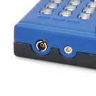 Telephone Style Windproof Plastic Butane Jet Lighter w/ LED Flashlight - Blue (3 x LR41)
