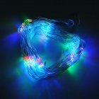 Mesh Style 8-Mode 8W 96-LED Multi-Color Light Decoration Lamp - Transparent (AC 220V)