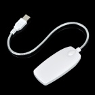 USB Powered Flexible Neck 28-LED White Light Lamp - White
