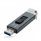 SSK FD223 High Speed USB 3.0 Flash Drive - Black + Silver (32GB)