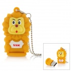 SSK SFD221 Cute Lion Stil USB 2.0 Flash Drive - Gelb (8GB)