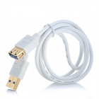 USB 3.0 Male to Female Extension Cable - White (1m)