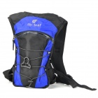 10L Outdoor Mountaineering Camping Waterproof Backpack - Blue + Black