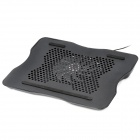 "C059 USB Cooling Pad Fan Cooler for 15"" Notebook Laptop - Black"