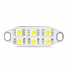 DianZi DZ4406G-NW 1.2W 110lm 3200K 6-SMD 5050 LED Warm White Car Reading Lamp (12~16V)