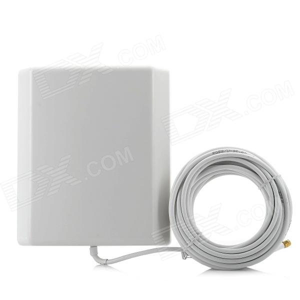 COMFAST CF-2414E 2.4GHz 14dBi SMA Outdoor Directional Wi-Fi Flat Panel Antenna - White