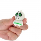 Cartoon Style USB 2.0 Flash Drive - White (8GB)