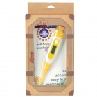 MT-821 Duck Style Digital 0.6' LCD Body Thermometer - Yellow + White (1 x AG3 / LR41)