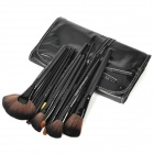 MAKE-UP FOR YOU Professional 32-in-1 Cosmetic Brushes Set - Black