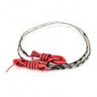 Waterproof Flexible 9W 480lm 60-SMD 1206 LED Red / Blue Light Car Decoration Strip (12V / 60cm)