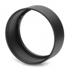 FOTGA 55 55mm Standard Aluminum Alloy Thread Lens Hood for 55mm Lens - Black