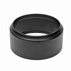 FOTAG 49mm Aluminum Alloy Lens Hood for Camera - Black