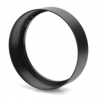 FOTGA 77mm Aluminum Alloy Lens Hood for Camera - Black