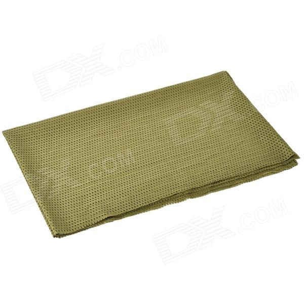 Outdoor Breathable Mesh Fabric Scarf Manggeon - Army Green монитор benq gl2450hm