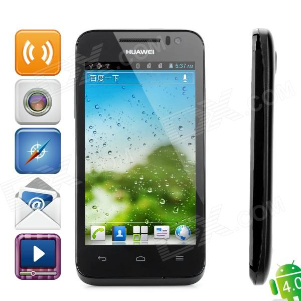 "HuaWei U8825D Ascend G330D Android 4.0 WCDMA Phone w/ 4.0"" Capacitive Screen, Wi-Fi and GPS - Black"