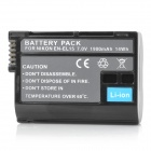 Ruibo EN-EL15 Replacement 7V 1900mAh Battery Pack for Nikon D7000 / D800E / D800 / V1 / D600 - Black