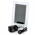 "Gadmei PF6011 6.0"" TFT Screen Digital Photo Frame w/ SD - White (1 x CR2032 / 2-Flat-Pin Plug)"