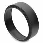 FOTGA 72mm Aluminum Alloy Lens Hood for Camera - Black