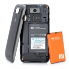 "Xiaomi 1S MIUI Android 4.0 WCDMA Phone w/ 4.0"" Capacitive Screen, Wi-Fi and GPS -Black"