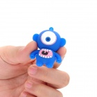 Cartoon Style USB 2.0 Flash Drive - Blue + White (4GB)