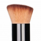 Finding Color Professional Wooden Cosmetic Makeup Bevel Foundation Brush - Brown