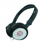TAICHEN TC-FM1018-A Stereo Headphone w/ Microphone and Volume Control - Black