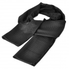 Outdoor Breathable Mesh Fabric Scarf Manggeon - Black