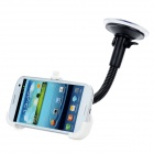 Universal Suction Cup Car Mount Holder for Samsung Galaxy S3/I9300 - White + Black