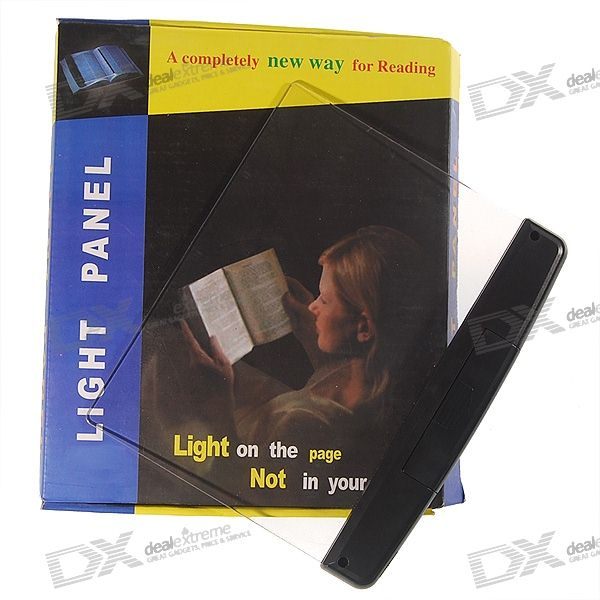Page Background LED Reading Light Panel (3*AAA)
