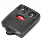 LX008 Replacement 3-Button Car Remote Key Case Shell for Ford - Black