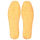 Soft Warm Plush Insole - Brown (Size 37 / Pair)