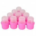 Wearable Nail Soakers for Artificial Nail Removal - Pink (10 PCS)