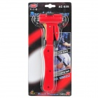 Multi-Function Car Emergency Safety Break Hammer - Red