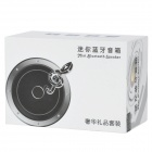 BS-110T Bluetooth v3.0 Stereo Speaker w/ Microphone - Black + Silver