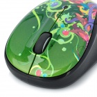 Logitech M325 1000dpi Wireless Optical Mouse - Black + Green (1 x AA)
